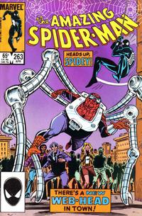 Cover Thumbnail for The Amazing Spider-Man (Marvel, 1963 series) #263 [Direct Edition]
