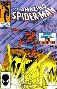 Cover Thumbnail for The Amazing Spider-Man (Marvel, 1963 series) #267 [Direct Edition]
