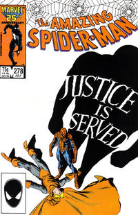 Cover Thumbnail for The Amazing Spider-Man (Marvel, 1963 series) #278 [Direct Edition]