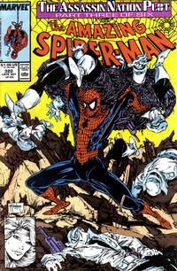 Cover Thumbnail for The Amazing Spider-Man (Marvel, 1963 series) #322 [Direct Edition]