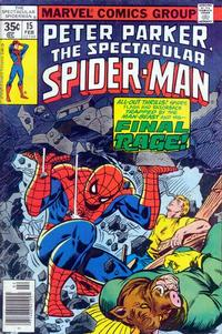 Cover Thumbnail for The Spectacular Spider-Man (Marvel, 1976 series) #15