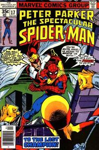 Cover Thumbnail for The Spectacular Spider-Man (Marvel, 1976 series) #17