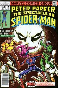 Cover Thumbnail for The Spectacular Spider-Man (Marvel, 1976 series) #19