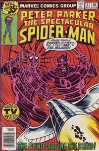 Cover Thumbnail for The Spectacular Spider-Man (Marvel, 1976 series) #27 [Regular Edition]