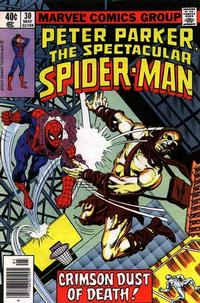 Cover Thumbnail for The Spectacular Spider-Man (Marvel, 1976 series) #30