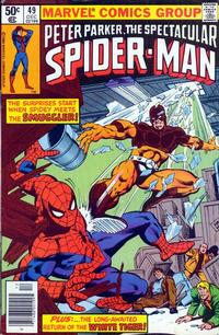 Cover Thumbnail for The Spectacular Spider-Man (Marvel, 1976 series) #49