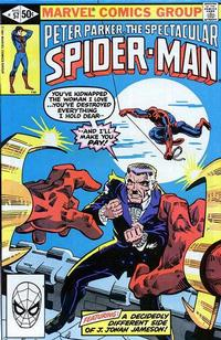 Cover Thumbnail for The Spectacular Spider-Man (Marvel, 1976 series) #57 [direct]