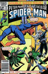 Cover for The Spectacular Spider-Man (Marvel, 1976 series) #75 [Direct Edition]