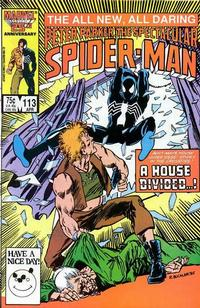 Cover Thumbnail for The Spectacular Spider-Man (Marvel, 1976 series) #113 [direct]