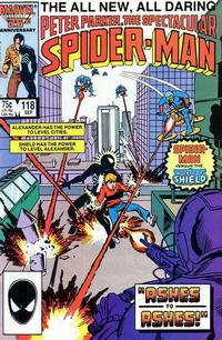 Cover Thumbnail for The Spectacular Spider-Man (Marvel, 1976 series) #118 [direct]