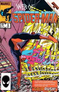 Cover Thumbnail for Web of Spider-Man (Marvel, 1985 series) #6 [Direct]