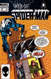 Cover Thumbnail for Web of Spider-Man (Marvel, 1985 series) #12
