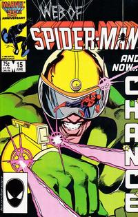 Cover Thumbnail for Web of Spider-Man (Marvel, 1985 series) #15 [Direct Edition]