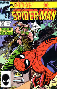 Cover Thumbnail for Web of Spider-Man (Marvel, 1985 series) #27 [Direct Edition]