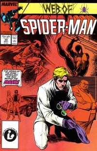 Cover Thumbnail for Web of Spider-Man (Marvel, 1985 series) #30 [Direct Edition]