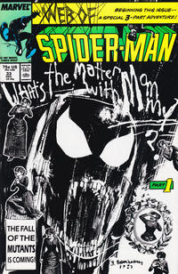 Cover for Web of Spider-Man (1985 series) #33 [Direct Edition]