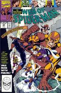 Cover Thumbnail for Web of Spider-Man (Marvel, 1985 series) #64 [Direct Edition]