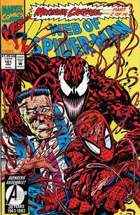 Cover Thumbnail for Web of Spider-Man (Marvel, 1985 series) #101 [Direct Edition]