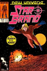 Cover Thumbnail for Star Brand (Marvel, 1986 series) #10 [Direct Edition]