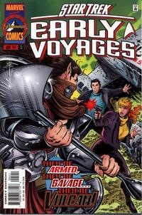 Cover Thumbnail for Star Trek: Early Voyages (Marvel, 1997 series) #5