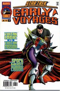 Cover Thumbnail for Star Trek: Early Voyages (Marvel, 1997 series) #6