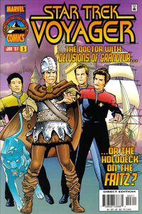 Cover Thumbnail for Star Trek: Voyager (Marvel, 1996 series) #3