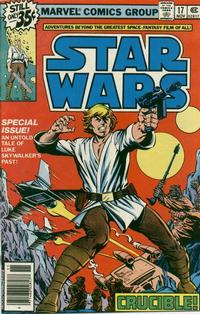 Cover Thumbnail for Star Wars (Marvel, 1977 series) #17 [Newsstand Edition]