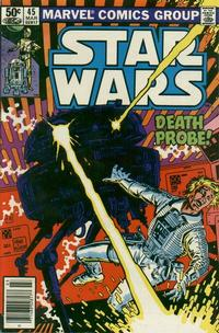 Cover Thumbnail for Star Wars (Marvel, 1977 series) #45 [Newsstand Edition]