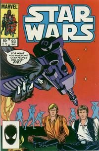 Cover Thumbnail for Star Wars (Marvel, 1977 series) #93 [Direct Edition]