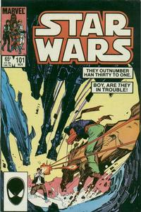 Cover for Star Wars (Marvel, 1977 series) #101 [Direct Edition]