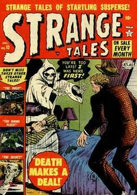 Cover Thumbnail for Strange Tales (Marvel, 1951 series) #13