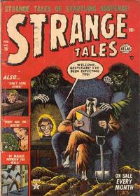 Cover for Strange Tales (1951 series) #15