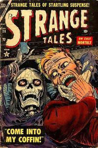 Cover Thumbnail for Strange Tales (Marvel, 1951 series) #28