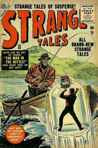 Cover Thumbnail for Strange Tales (Marvel, 1951 series) #35