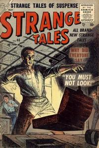 Cover for Strange Tales (1951 series) #46