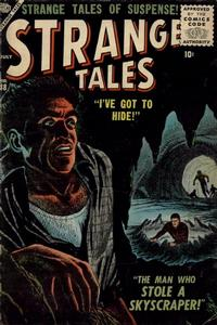 Cover for Strange Tales (1951 series) #48