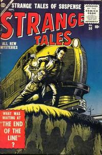 Cover for Strange Tales (1951 series) #50