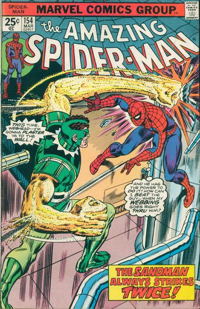 Cover for The Amazing Spider-Man (1963 series) #154