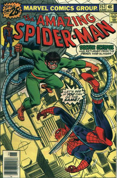 Cover for The Amazing Spider-Man (Marvel, 1963 series) #157 [National Bookstore Variant]