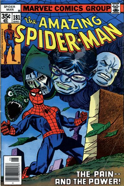 Cover for The Amazing Spider-Man (Marvel, 1963 series) #181