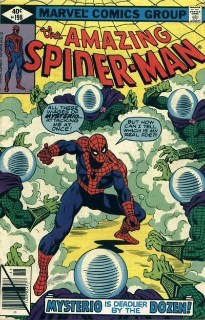 Cover for The Amazing Spider-Man (Marvel, 1963 series) #198 [Direct Edition]