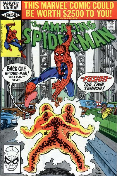 Cover for The Amazing Spider-Man (1963 series) #208