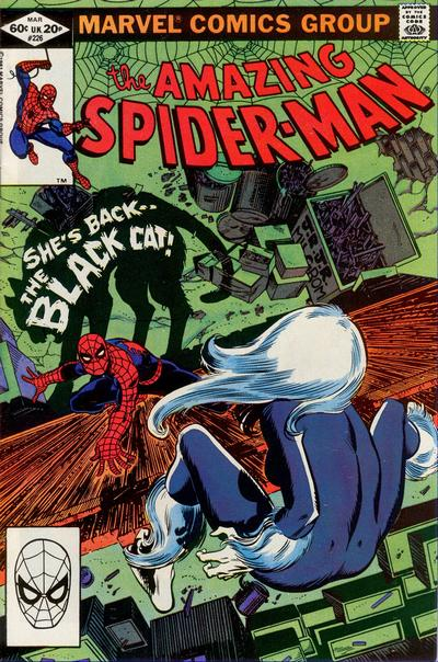 Cover for The Amazing Spider-Man (Marvel, 1963 series) #226 [Direct Edition]