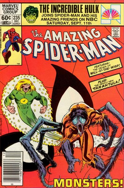 Cover for The Amazing Spider-Man (Marvel, 1963 series) #235 [Direct Edition]