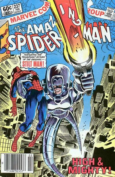 Cover for The Amazing Spider-Man (Marvel, 1963 series) #237 [Direct Edition]