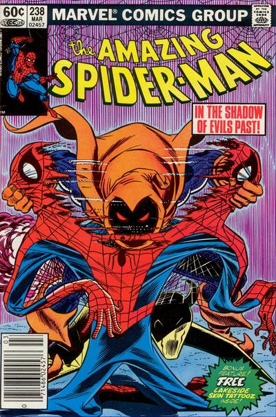 Cover for The Amazing Spider-Man (Marvel, 1963 series) #238 [Canadian Price Variant]