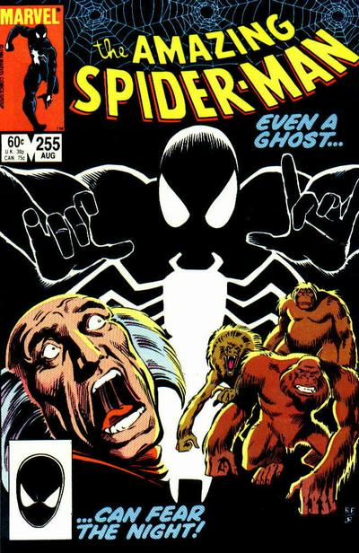Cover for The Amazing Spider-Man (Marvel, 1963 series) #255 [Direct Edition]