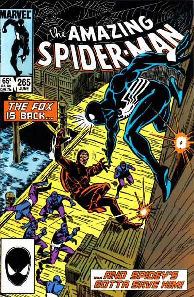 Cover for The Amazing Spider-Man (1963 series) #265 [Second Printing]