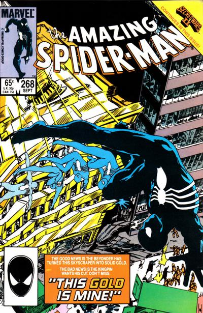 Cover for The Amazing Spider-Man (Marvel, 1963 series) #268 [Newsstand Edition]