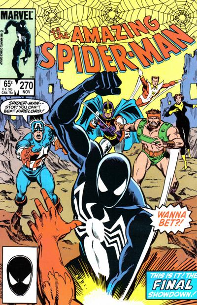 Cover for The Amazing Spider-Man (Marvel, 1963 series) #270 [Direct Edition]